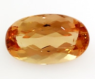 imperial topaz loose Gemstone