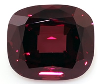 red garnet loose Gemstone
