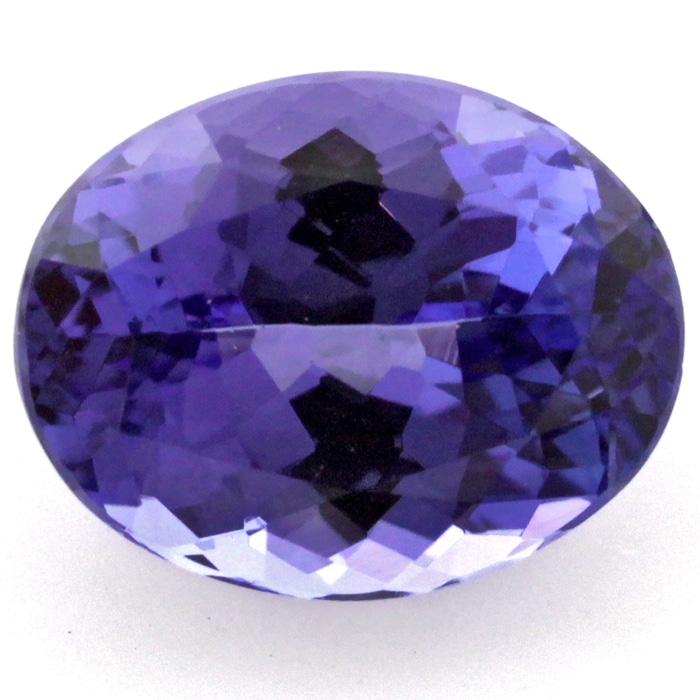 blue tanzanite loose Gemstone