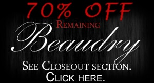 Beaudry closeout prices