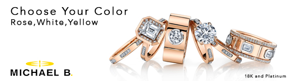 Michael b jewelry engagement rings and wedding bands for Michael b s jewelry