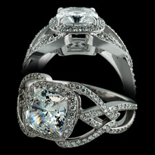 Bridget Durnell Open LOGO engagement Ring