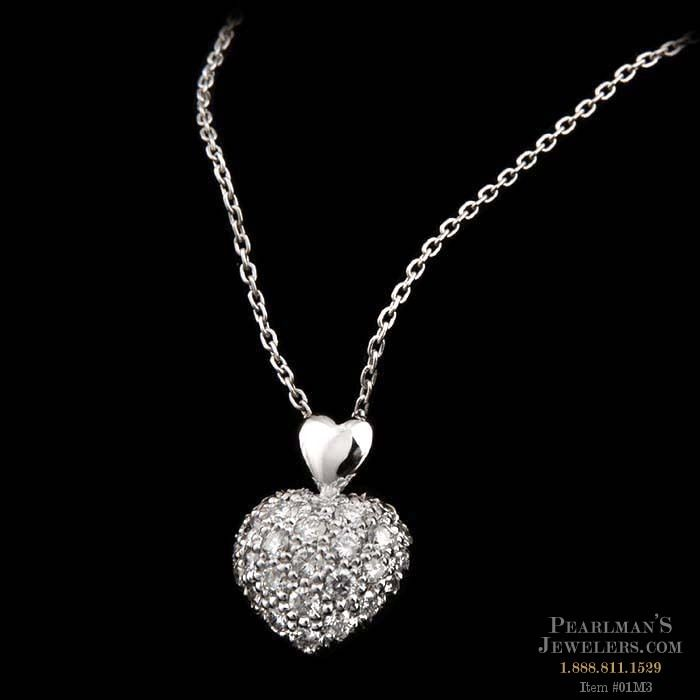 pendant necklace zoom diamond platinum pendants