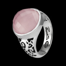 Metalsmiths Sterling Sterling silver by Metalsmiths Rose Quartz ring
