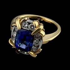 Pearlman's Collection tanzanite diamond ring