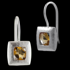 Bastian Inverun Sterling silver Citrine earrings