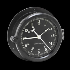 Chelsea Clocks Patriot Deck Clock - Black Dial