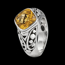 Metalsmiths Sterling Sterling silver Citrine ring