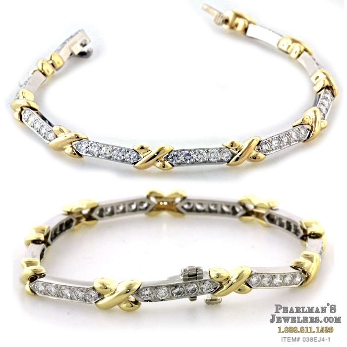 Estate Jewelry Gumuchian diamond bracelet