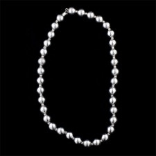 Estate Jewelry sterling bead necklace
