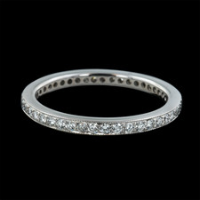 Sholdt  platinum diamond eternity band