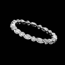 Beverley K 18kt gold diamond eternity band