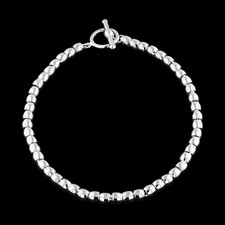 Dorfman Sterling Dorfman silver  bead necklace