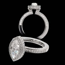 Alex Soldier Platinum and diamond engagement ring for marquese