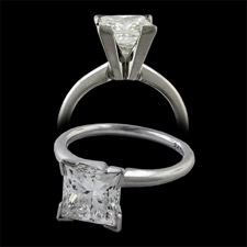 Estate Jewelry diamond engagement ring