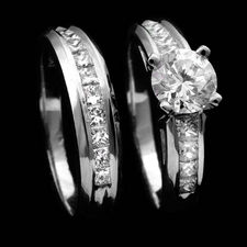 Scott Kay wedding set rings