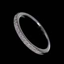 A beautiful 1/2 shank diamond pave band.  This piece contains 19 diamonds and weighs .20ct.  Classic!