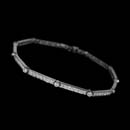 This beautiful Gumuchian platinum and diamond ''micro set'' bracelet shimmers with 1.85ctw in diamonds.