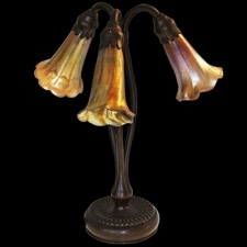 Estate Jewelry Antique Louis Comfort Tiffany lamp