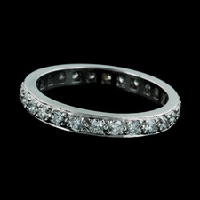 Gumuchian Platinum Diamond Eternity band
