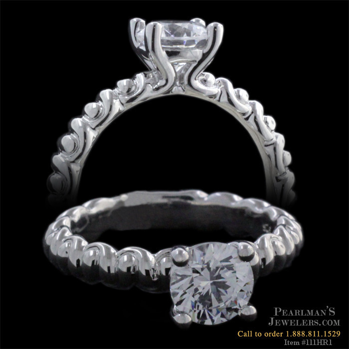Harout R 18 Karat Gold Engagement Ring Harout R