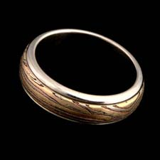 George Sawyer E mokume wedding band