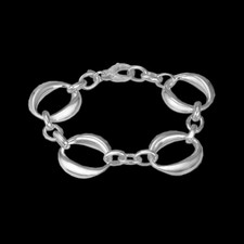 Metalsmiths Sterling Signature Collection link bracelet