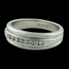 Pearlman's Collection wedding band
