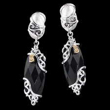 Bellarri sterling silver black onyx earrings