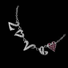 Cathy Carmendy Cathy Carmendy platinum Love necklace