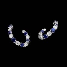 Gumuchian Gumuchian 18kt. sapphire and diamond earrings