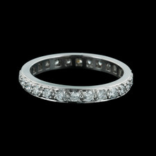 Gumuchian Eternity Platinum wedding ring