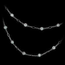 Bridget Durnell Platinum Vintage Link Diamond Chain