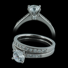 Closeout Jewelry Scott Kay engagement ring and wedding band