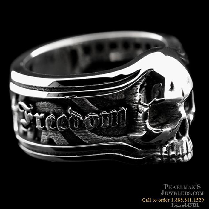 Nightrider Silver Freedom Or Death Band
