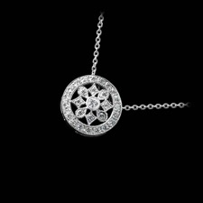 Beverley K 18kt white gold diamond pendant