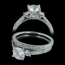 Closeout Jewelry Scott Kay diamond engagement ring and wedding band