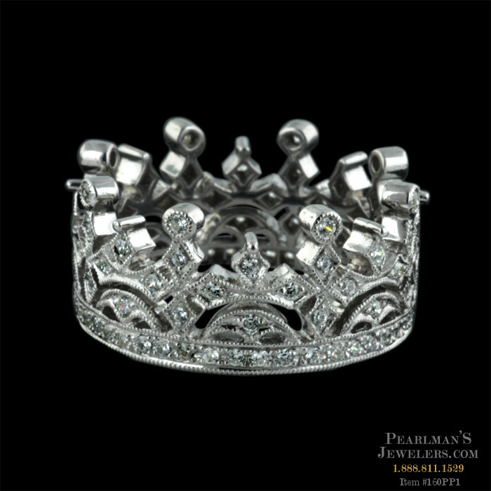 beverley k rings - Crown Wedding Rings