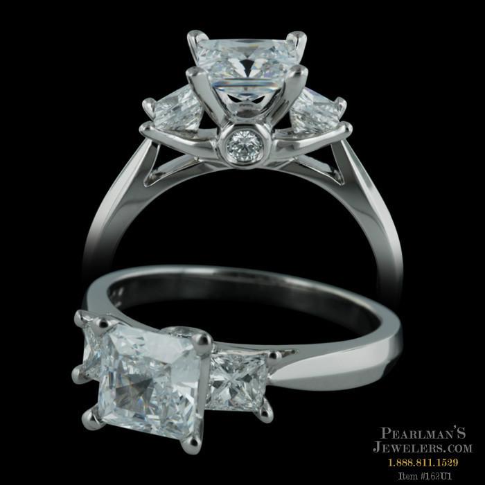 2daf93cb2 Scott Kay Scott Kay Three Stone Engagement Ring For Princess Cuts
