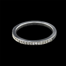 Pearlman's Bridal diamond pave wedding band
