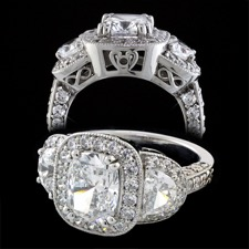 Pearlman's Bridal diamond engagement ring