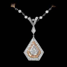 This remarkable Michael Beaudry platinum and 18k rose gold