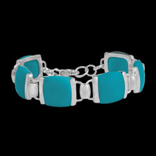 Discontinued Metalsmiths Sterling Turquoise Earth Wind And Fire Bracelet