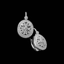 These 18kt white gold Beverley K. sparklers feature .33ctw in diamonds.