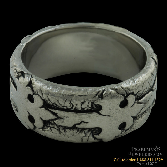 60408d539 Scott Kay for Men Palladium Men's Gothic Wedding Ring