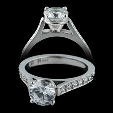 Gumuchian Platinum engagement ring by Gumuchian