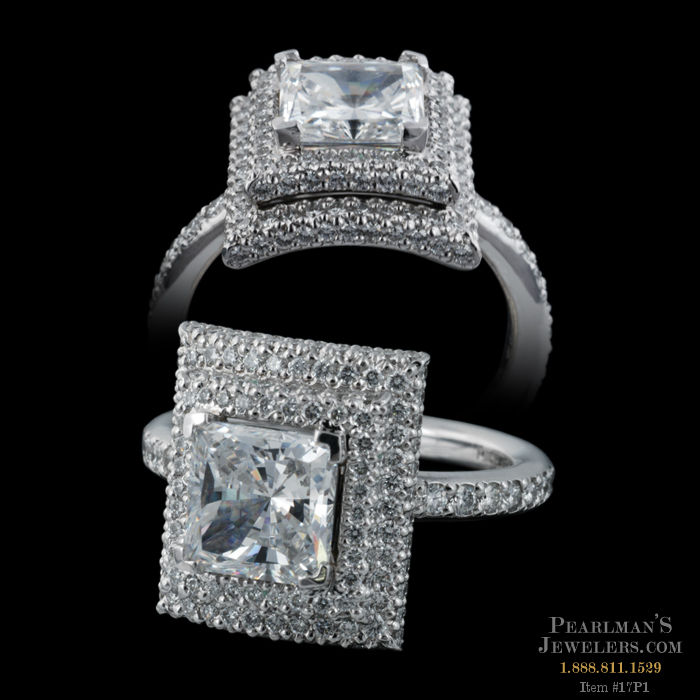 Michael b jewelry michael b platinum engagement ring for Michael b s jewelry