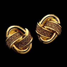 Yuri Ichihashi 18 kt gold earrings Yuri Ichihashi