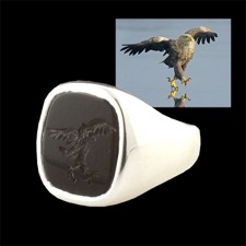 Pearlman's Collection Full of crap walking Eagle Ring