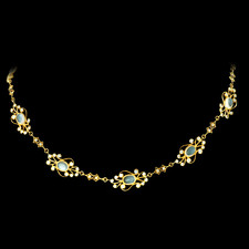 Cathy Carmendy Cathy Carmendy 20kt y.g. Moonstone necklace